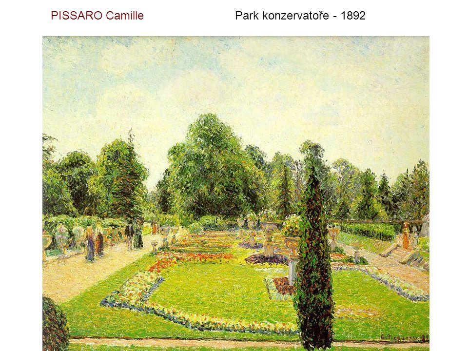 PISSARO CamillePoustevna u Pontoise - 1867