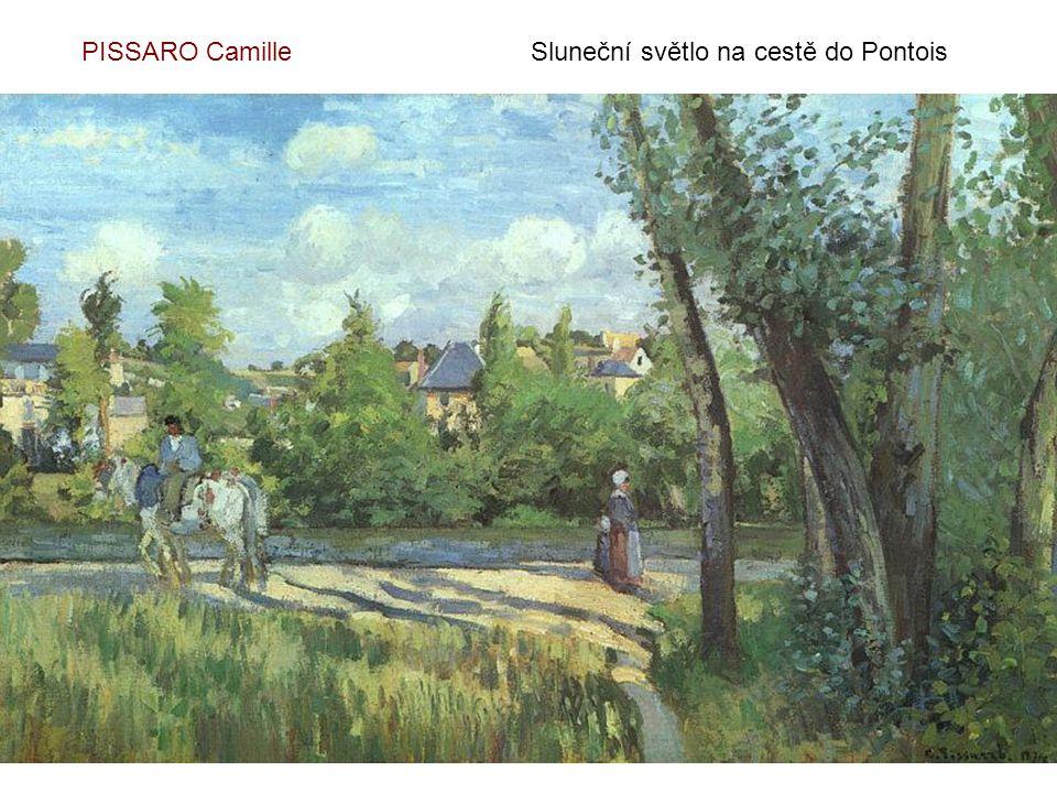 PISSARO CamillePark konzervatoře - 1892