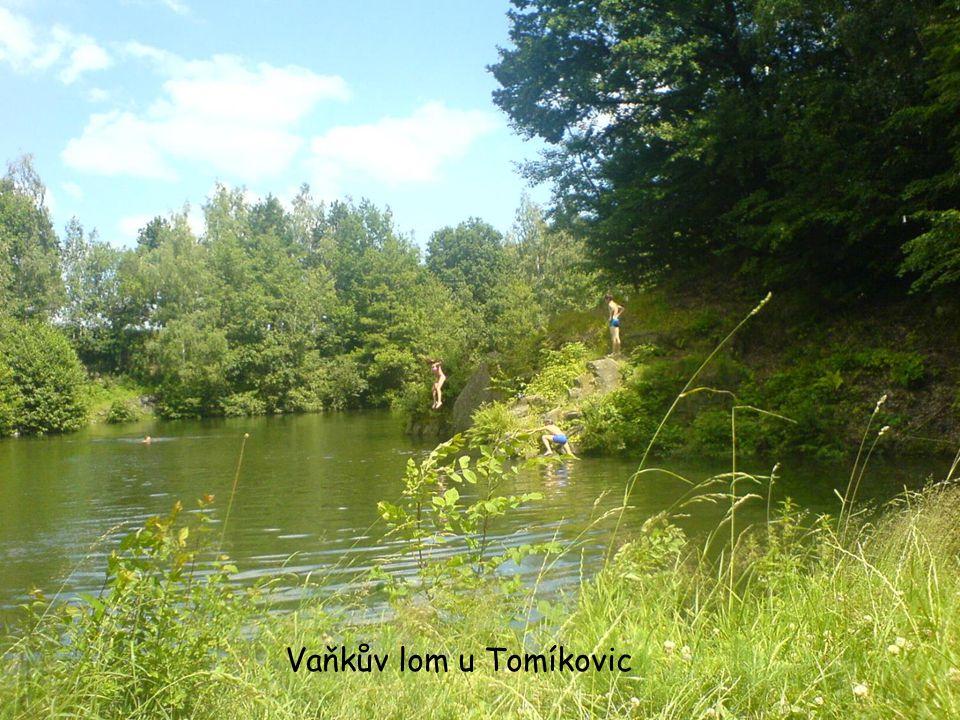 Vaňkův lom u Tomíkovic