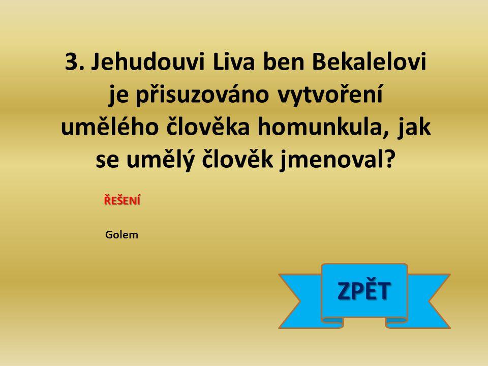 4. Kolik atletických světových rekordů překonal za své kariéry Emil Zátopek? ŘEŠENÍ 18 ZPĚT