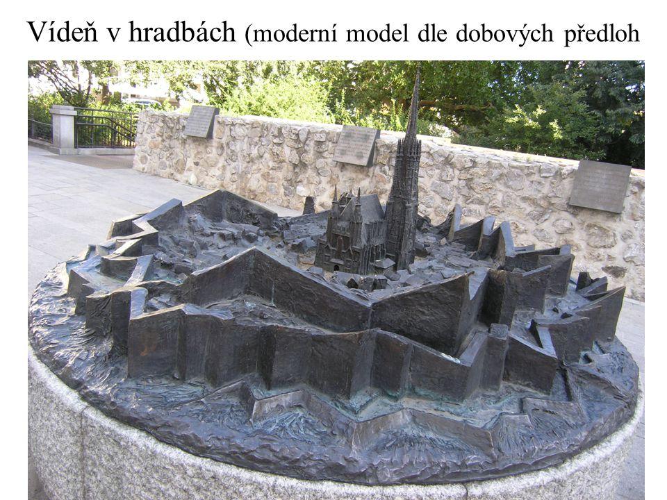 Vídeň v hradbách (moderní model dle dobových předloh