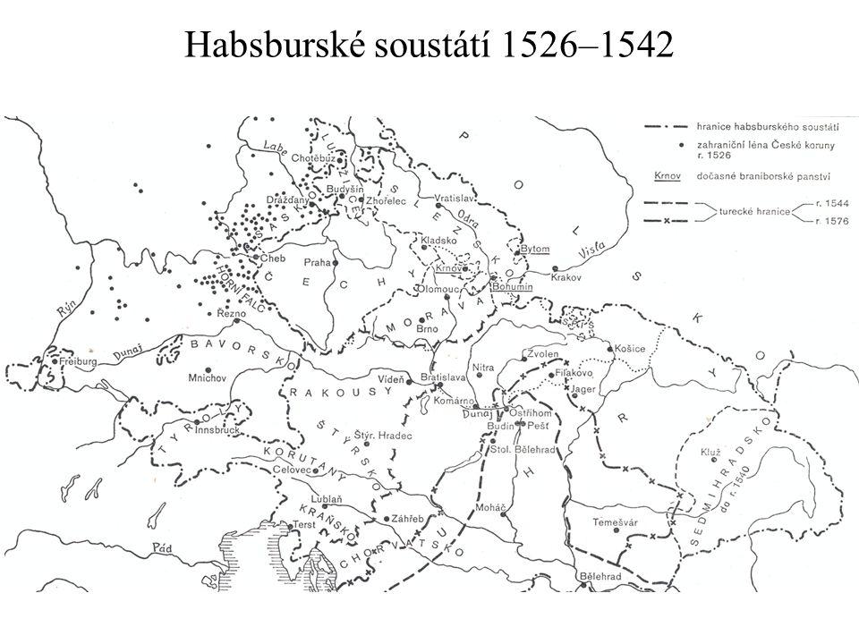 Habsburské soustátí 1526–1542
