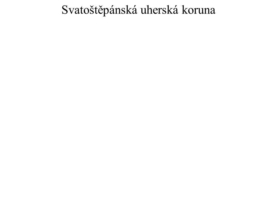 Svatoštěpánská uherská koruna