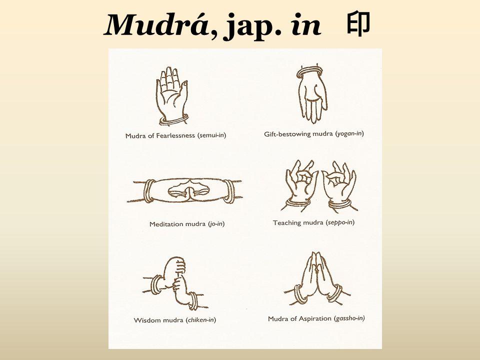 Mudrá, jap. in 印
