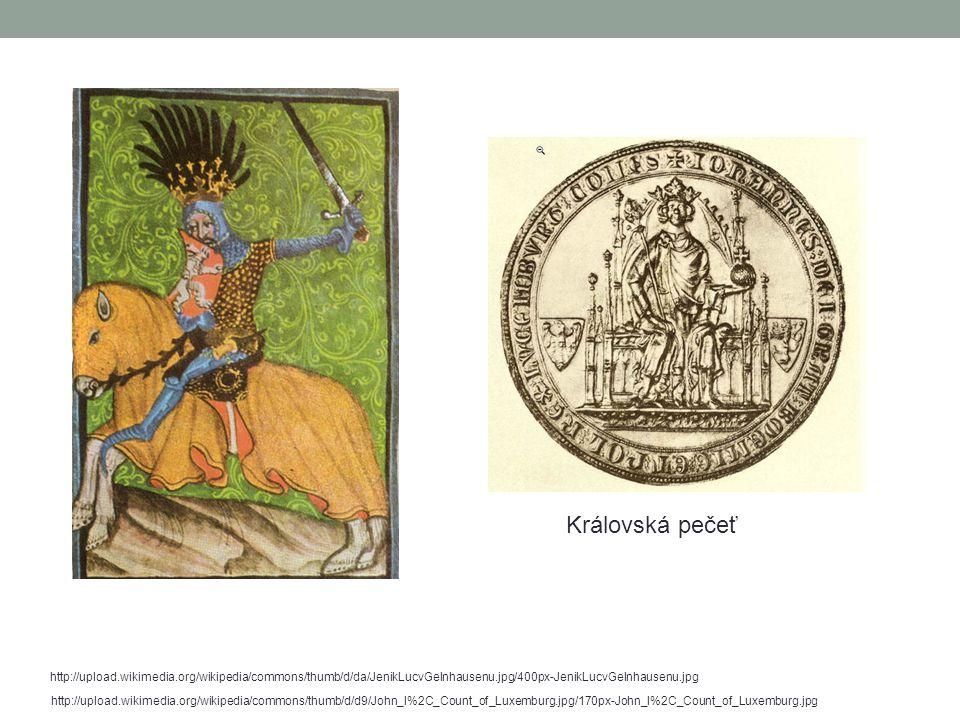 Václav IV.Syn Karla IV. byl vzdělaný, ale vládnutí ho nebavilo.
