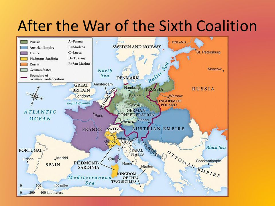 After the War of the Sixth Coalition N.
