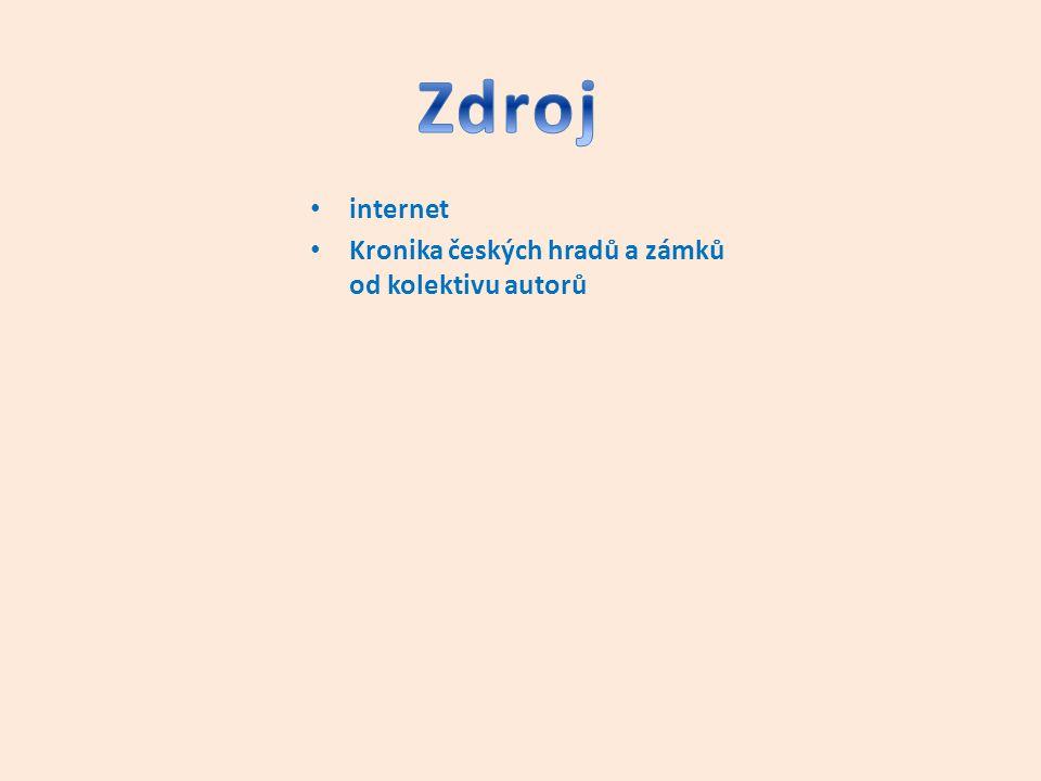 internet Kronika českých hradů a zámků od kolektivu autorů