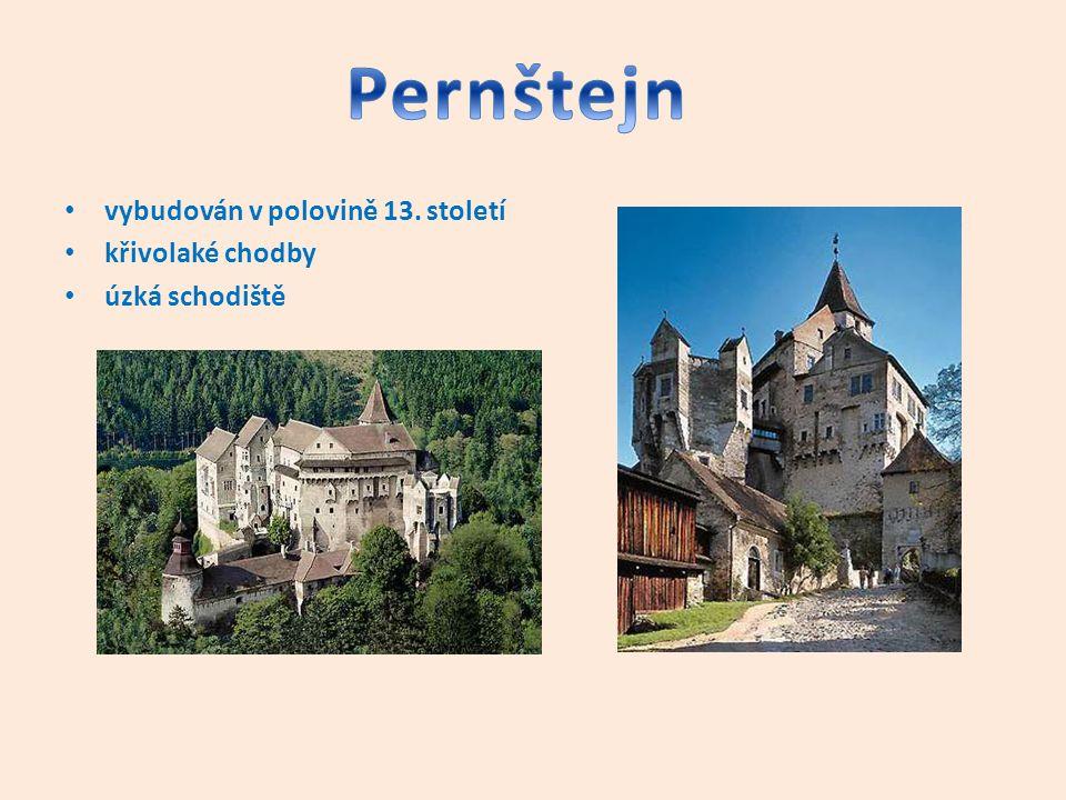 postaven ve 14.století vypleněn v době husitských válek ve 20.