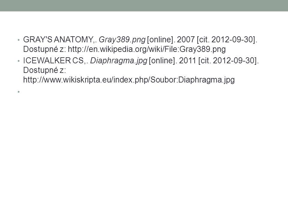 GRAY'S ANATOMY,. Gray389.png [online]. 2007 [cit. 2012-09-30]. Dostupné z: http://en.wikipedia.org/wiki/File:Gray389.png ICEWALKER CS,. Diaphragma.jpg