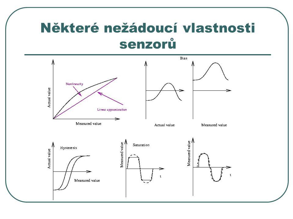 Některé nežádoucí vlastnosti senzorů