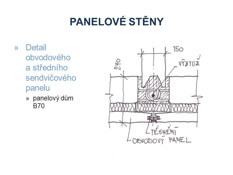 PANELOVÉ STĚNY »První experimentální panelové domy »Zlín