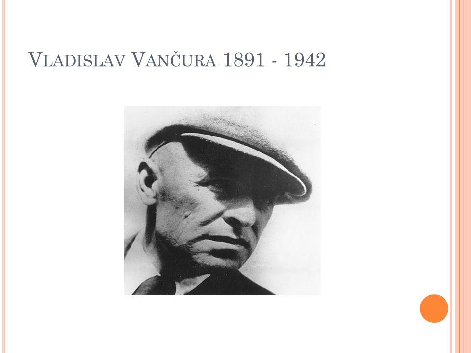 V LADISLAV V ANČURA 1891 - 1942