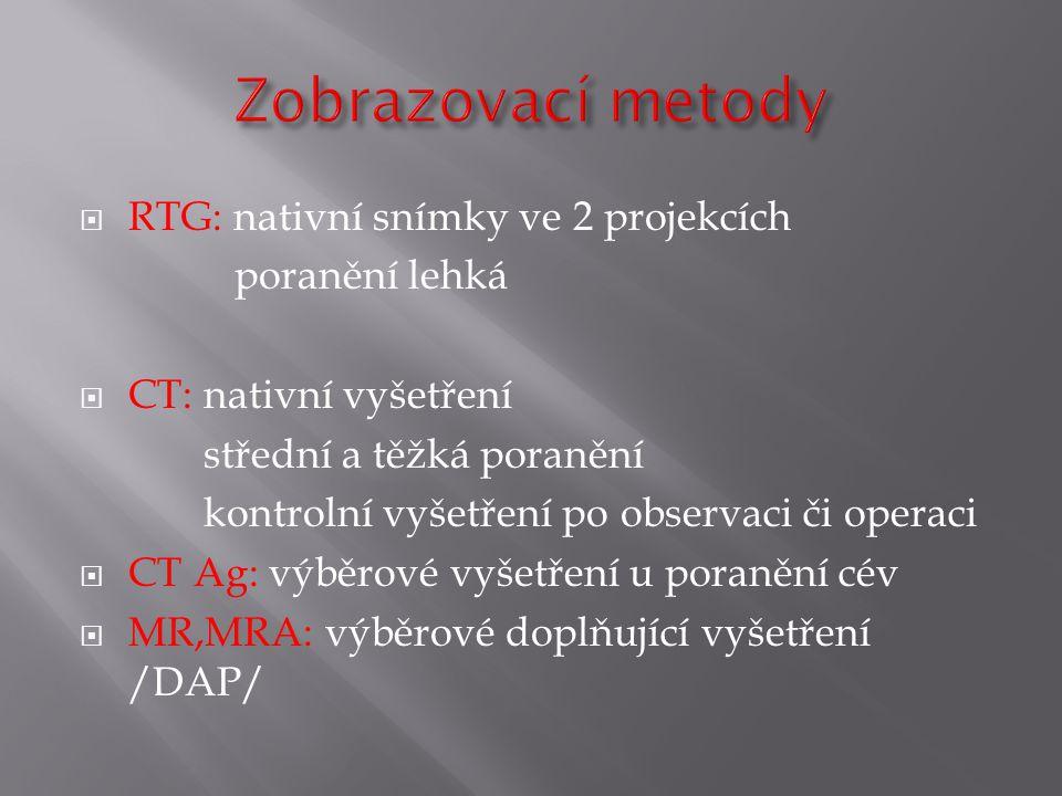 I.Dysmyelinisace / leukodystrofie /: vrozené II.