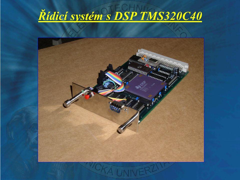 Řídicí systém s DSP TMS320C40