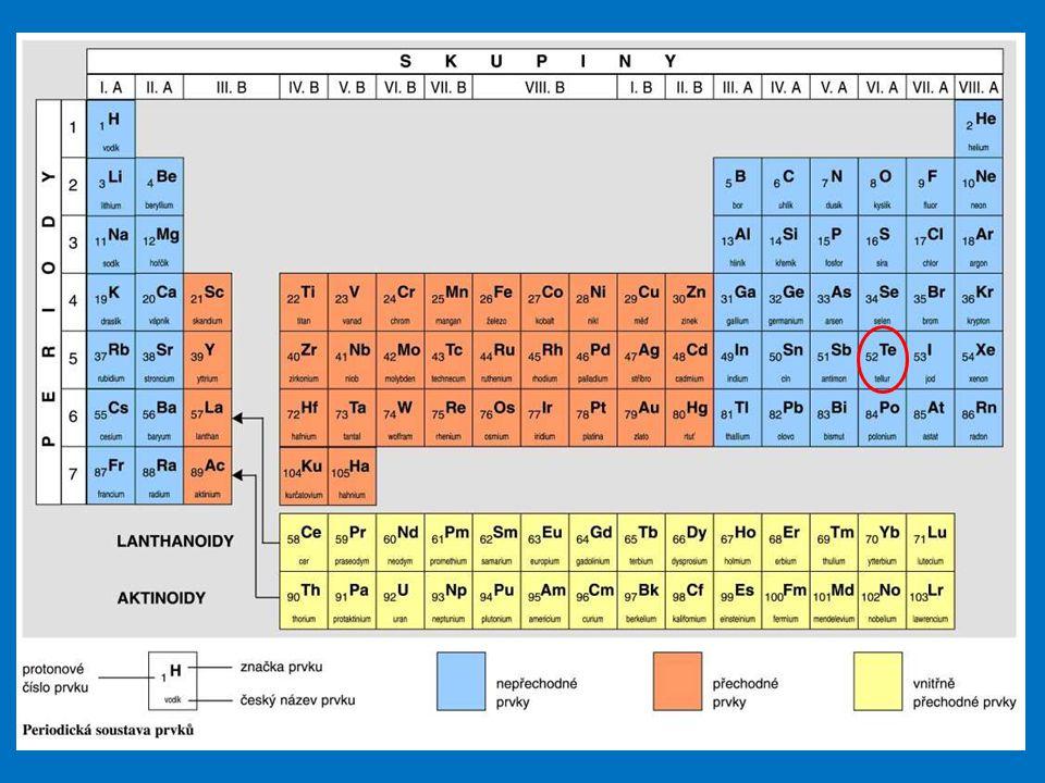 Tellur je dosti vzácný prvek byl objeven roku 1782 Franzem Josephem Mullerem.