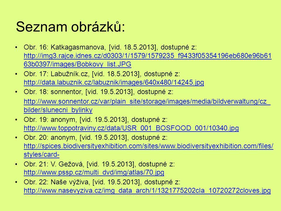 Seznam obrázků: Obr.16: Katkagasmanova, [vid.