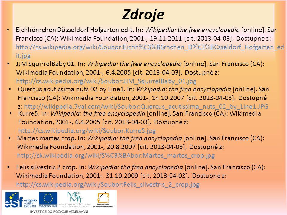 Zdroje Eichhörnchen Düsseldorf Hofgarten edit.In: Wikipedia: the free encyclopedia [online].