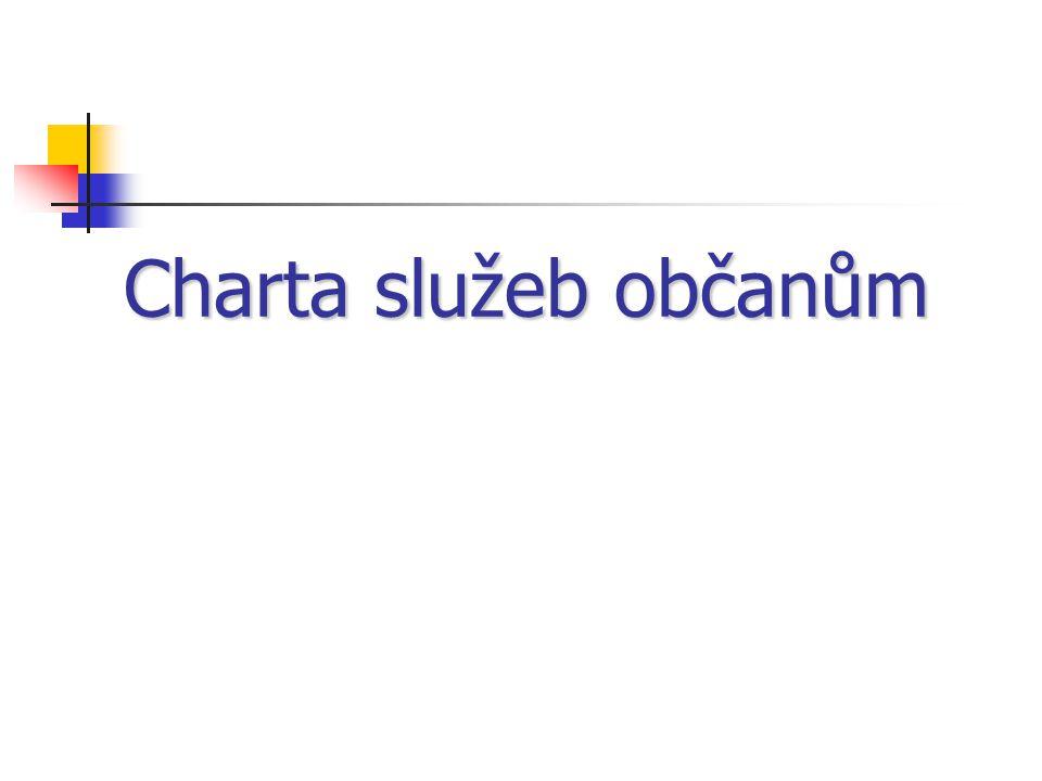 Charta služeb občanům