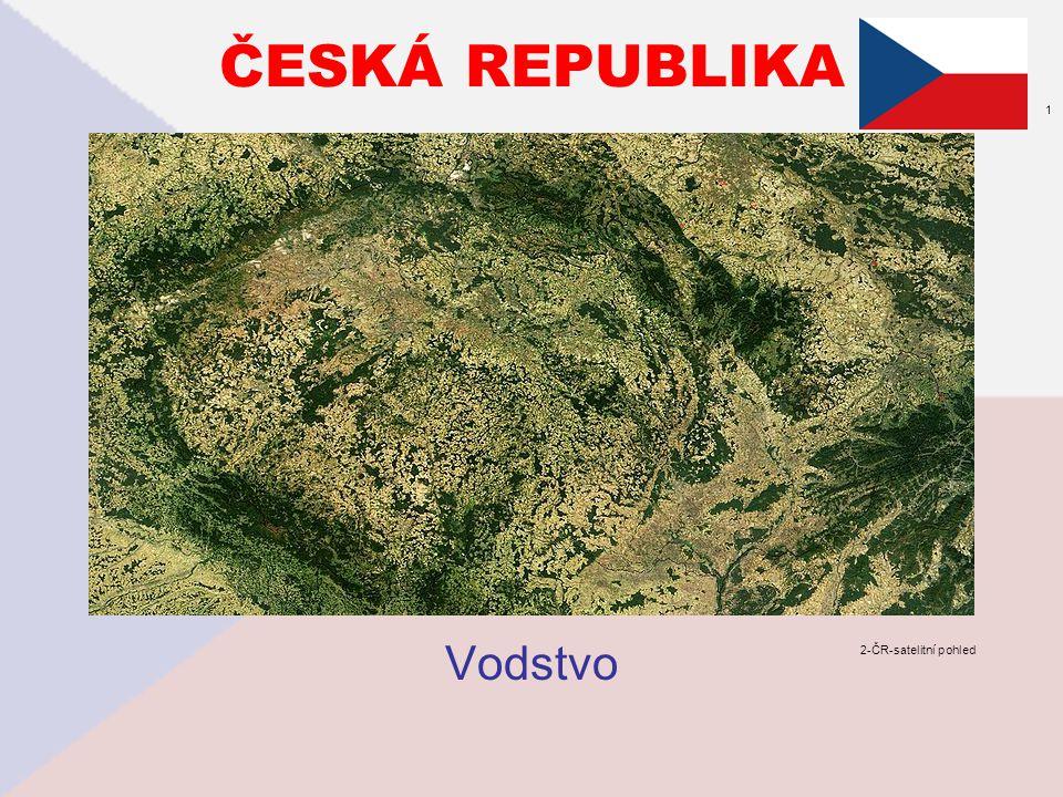 ČESKÁ REPUBLIKA Vodstvo 2-ČR-satelitní pohled 1