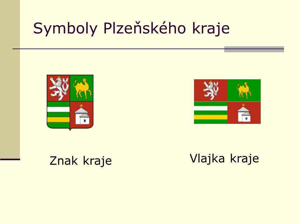 Symboly Plzeňského kraje Znak kraje Vlajka kraje