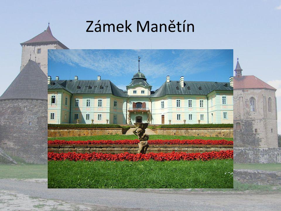 Zámek Manětín