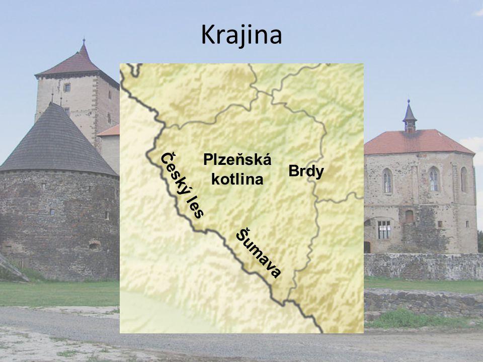 Krajina Šumava Český les Brdy Plzeňská kotlina