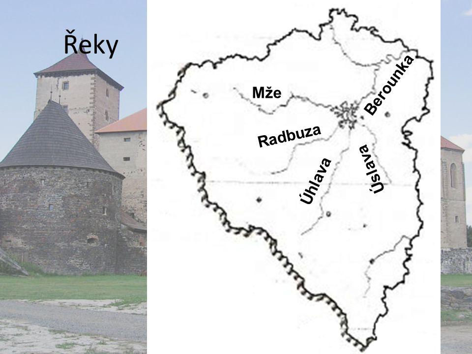 Řeky Mže Radbuza Úhlava Úslava Berounka