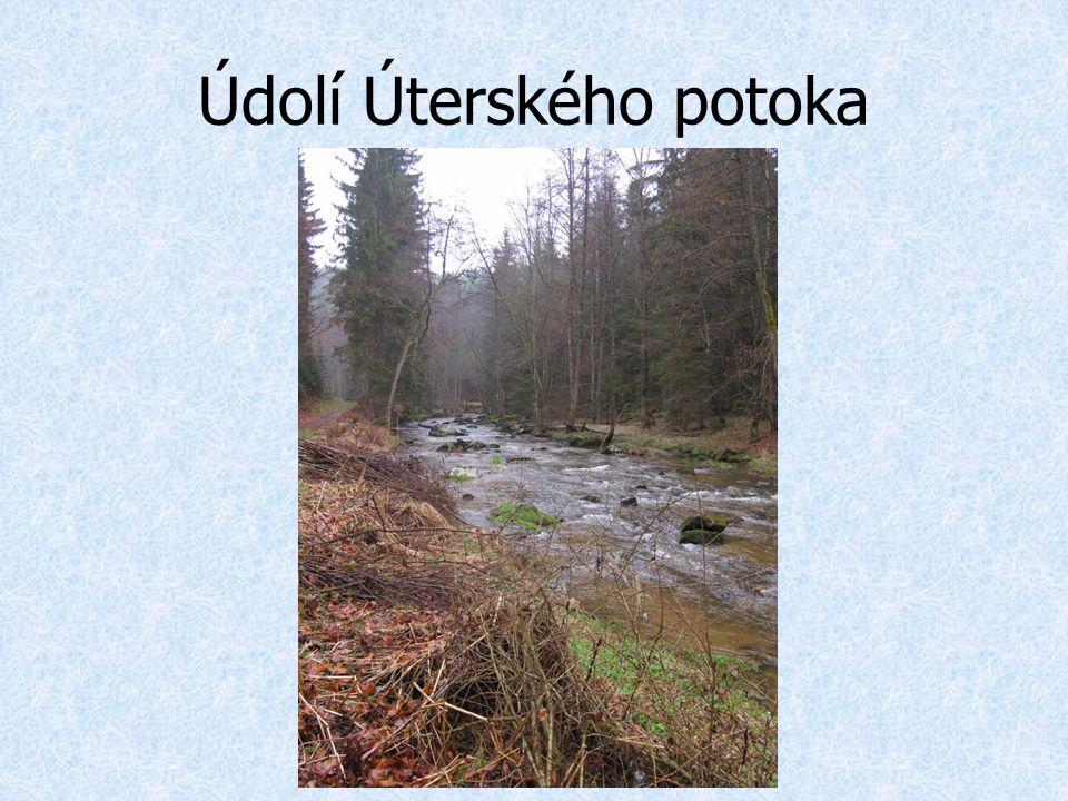 Údolí Úterského potoka