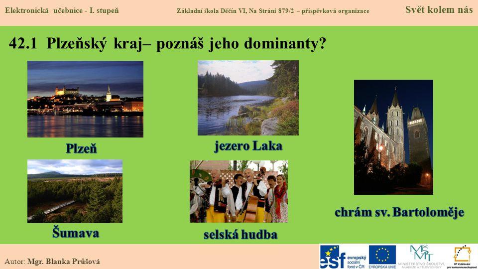 42.2 Poloha v republice Elektronická učebnice - I.