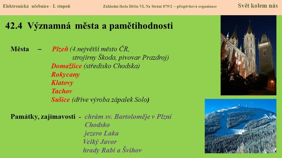 42.5 Procvičení a příklady Elektronická učebnice - I.
