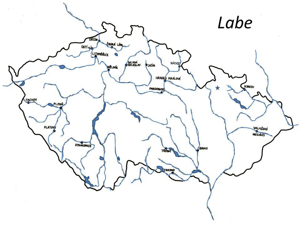 ČESKÁ REPUBLIKA VODSTVO Klikni na správnou řeku nebo vodní nádrž