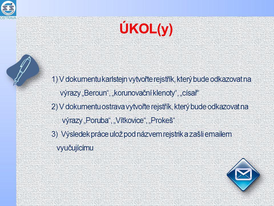 CITACE a zdroje MS Office 2010.2010. Karlštejn. In: Wikipedia: the free encyclopedia [online].