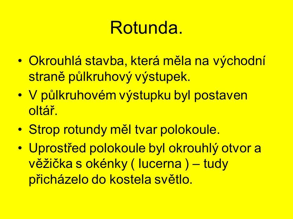 Správné řešení.1.První kamenné stavby v Čechách a na Moravě byly postaveny ve slohu románském.