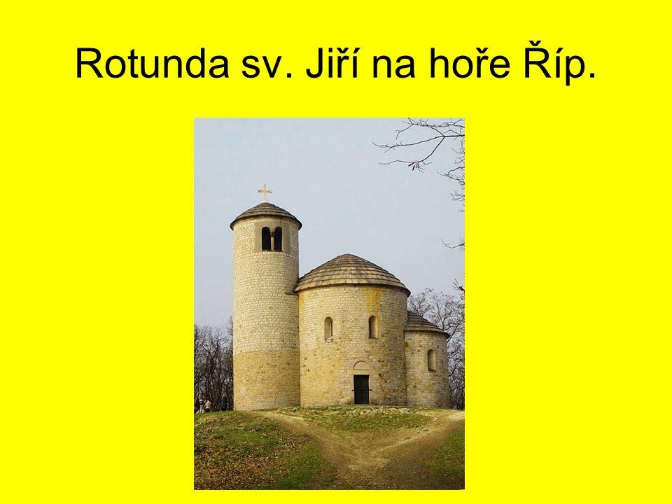 Rotunda Starý Plzenec.