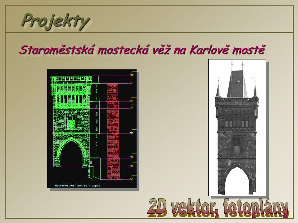 ProjektyProjekty Staroměstská mostecká věž na Karlově mostě