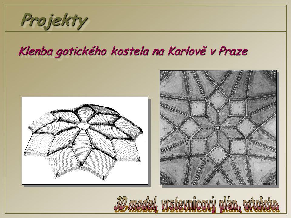 ProjektyProjekty Klenba gotického kostela na Karlově v Praze