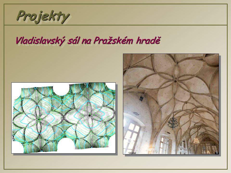 ProjektyProjekty Vladislavský sál na Pražském hradě