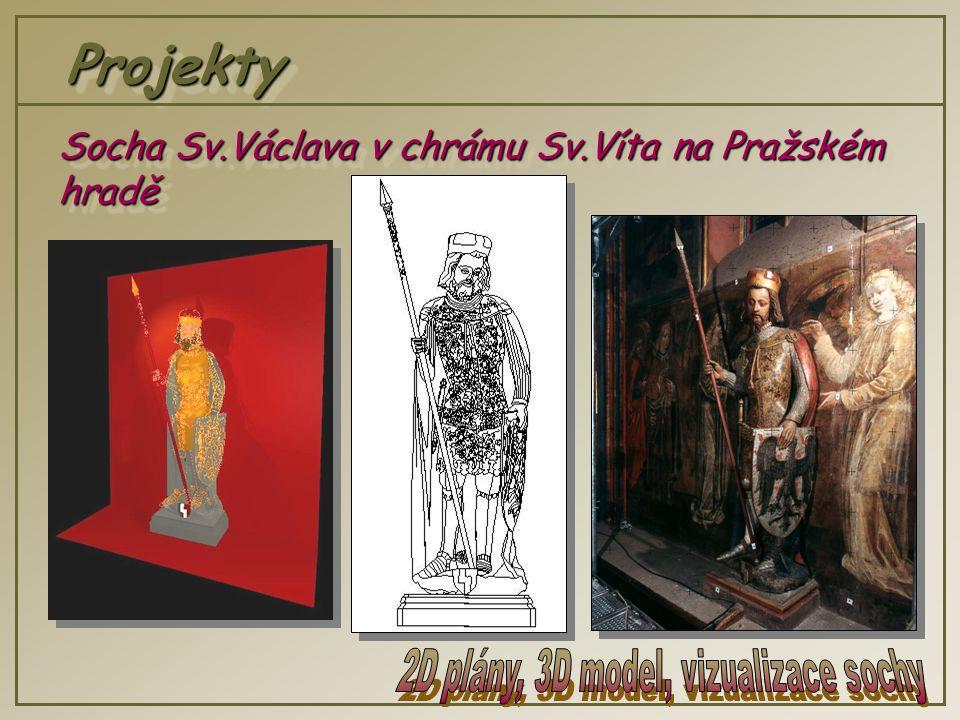 ProjektyProjekty Socha Sv.Václava v chrámu Sv.Víta na Pražském hradě