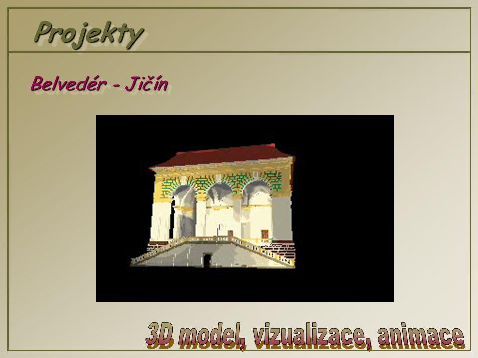 ProjektyProjekty Belvedér - Jičín