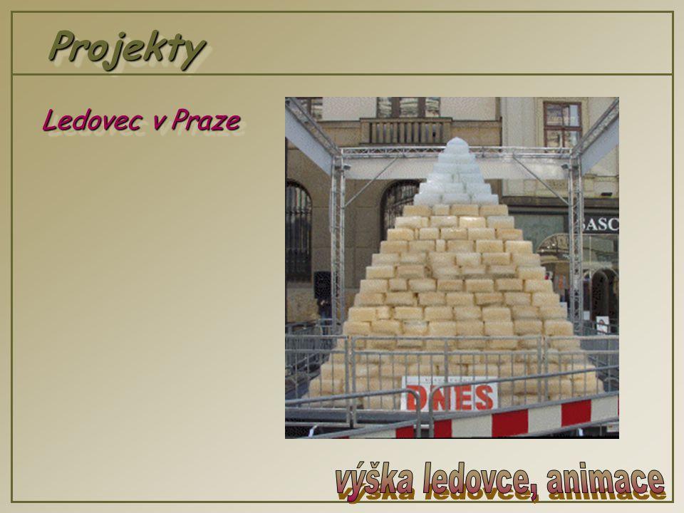 ProjektyProjekty Ledovec v Praze