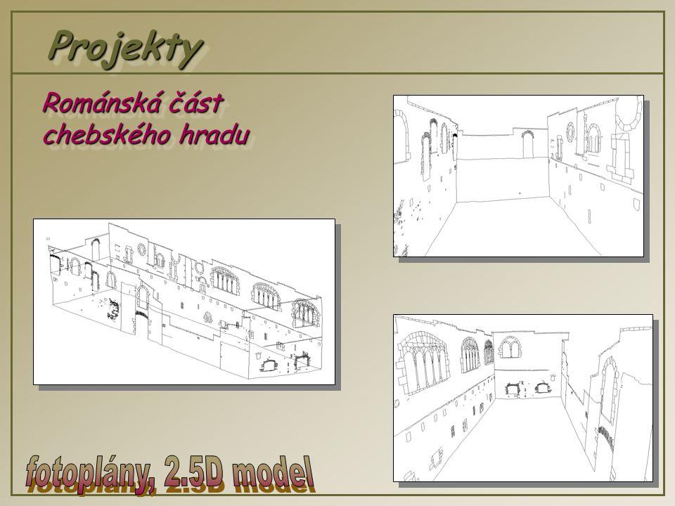 ProjektyProjekty Románská část chebského hradu