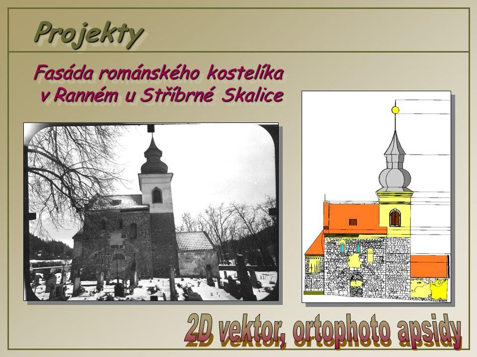 ProjektyProjekty Fasáda románského kostelíka v Ranném u Stříbrné Skalice v Ranném u Stříbrné Skalice Fasáda románského kostelíka v Ranném u Stříbrné Skalice v Ranném u Stříbrné Skalice