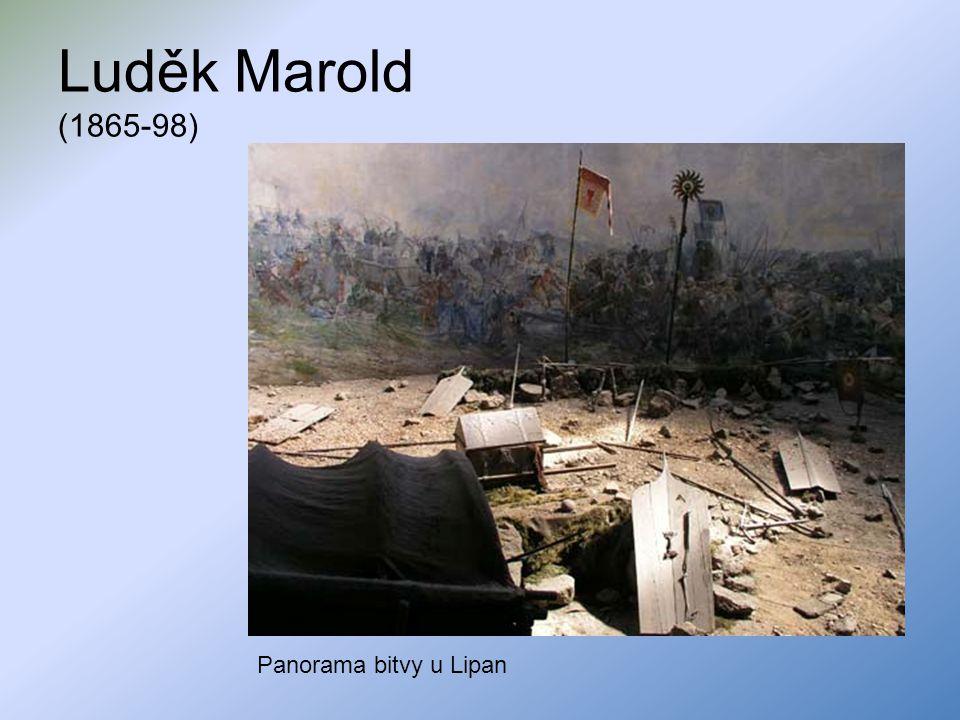 Luděk Marold (1865-98) Panorama bitvy u Lipan