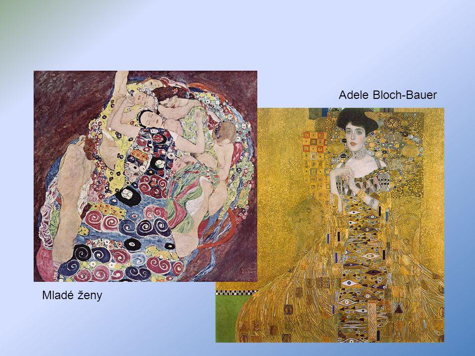 Mladé ženy Adele Bloch-Bauer