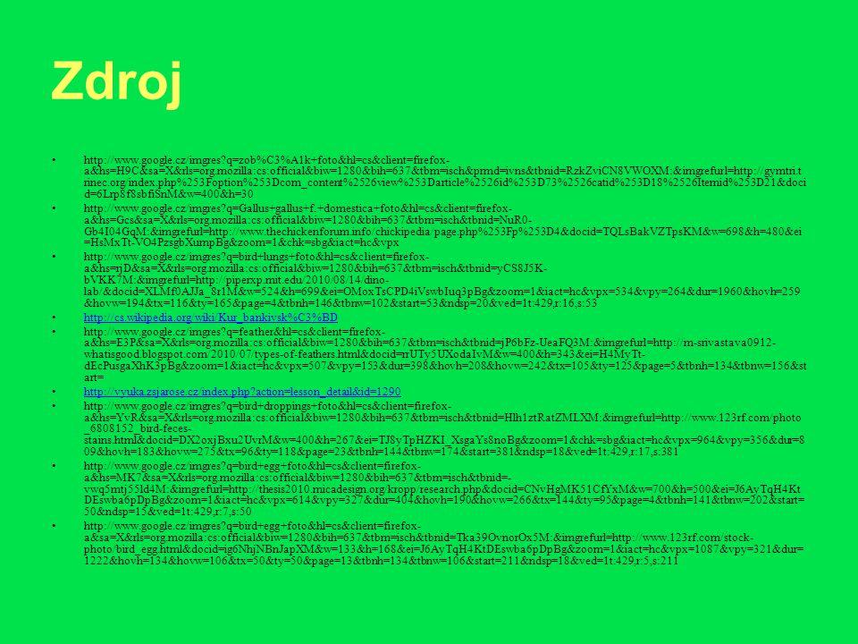 Zdroj http://www.google.cz/imgres?q=zob%C3%A1k+foto&hl=cs&client=firefox- a&hs=H9C&sa=X&rls=org.mozilla:cs:official&biw=1280&bih=637&tbm=isch&prmd=ivn
