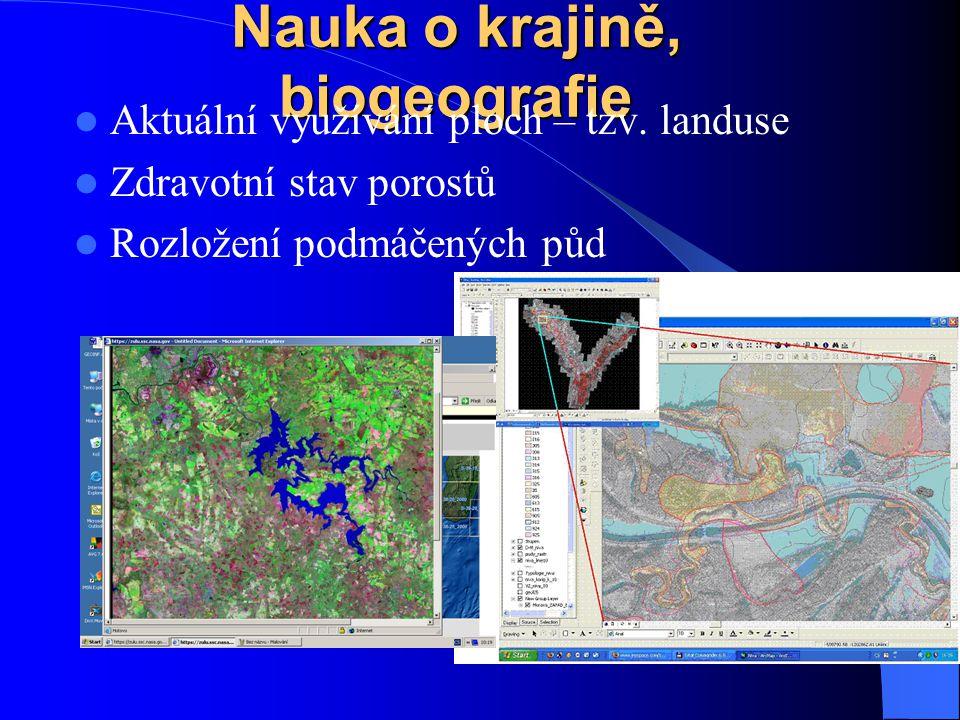 Hydrologie povodí a subpovodí, proudění vody, ukládání materiálu krizový management např.
