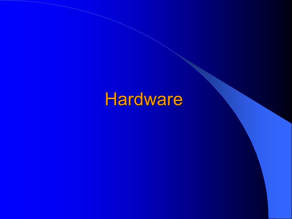 Základní komponenty GIS hardware software data lidé