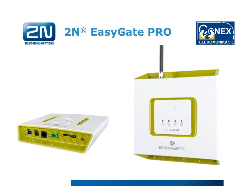 2N ® EasyGate PRO