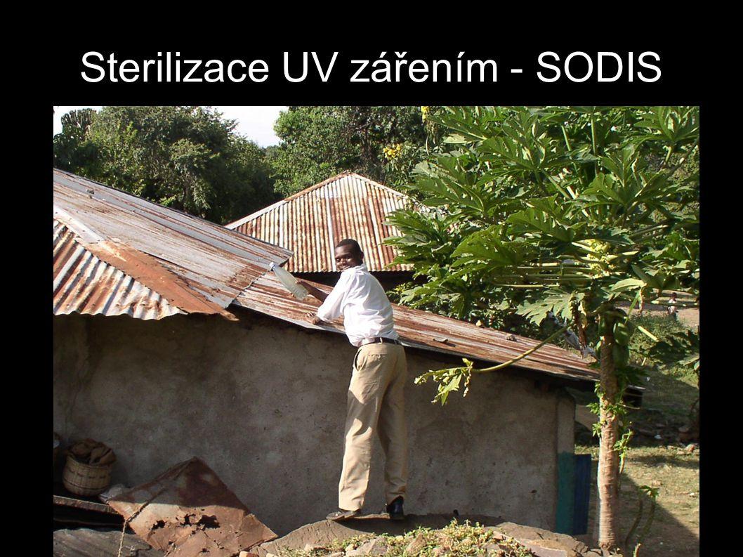 Sterilizace UV zářením - SODIS