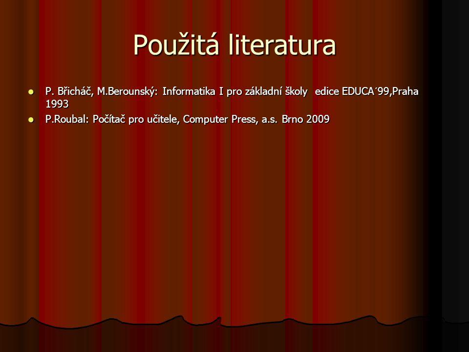 Použitá literatura P.
